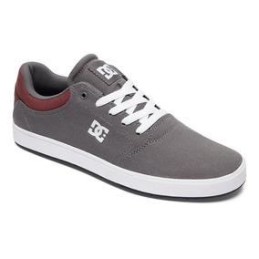 Tenis Calzado Hombre Zapato Casual Crisis Aob Gris Dc Shoes