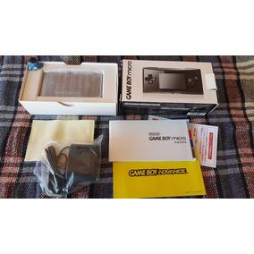 Nintendo Game Boy Advance Micro - Console Na Caixa Completo!