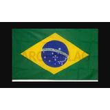 Brasil - Hermosa Bandera 90 X 60 Cm Argenflag Con Cintas!