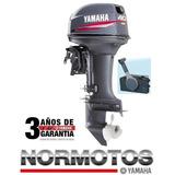 Motor Yamaha 40hp 2t (xwtl) Electrico C/ Power Trim 47499220