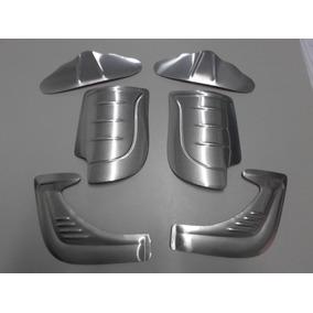 Kit Polainas E Borboletas P/ Fusca De Aluminio Com Orelha