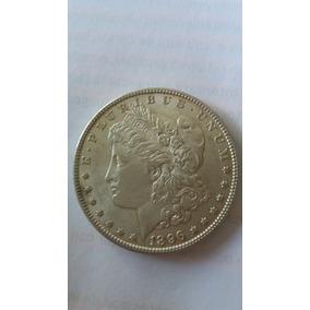 Moeda De 1 Dolar Morgan De Prata 1896