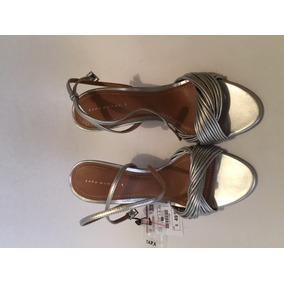 Zapatos De Tacones Altos Zara Talla 38 Originales Nuevos