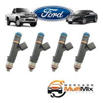 Kit Jogo 4 Bicos Injetor Ford Ranger 2.3 Fusion - 0280158105
