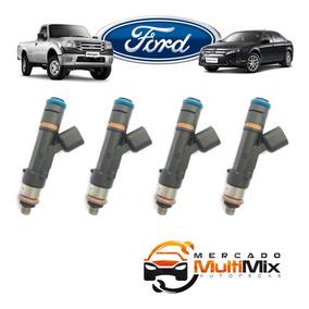 Kit Jogo 4 Bicos Injetor Ford Fusion Ranger 2.3 - 0280158105