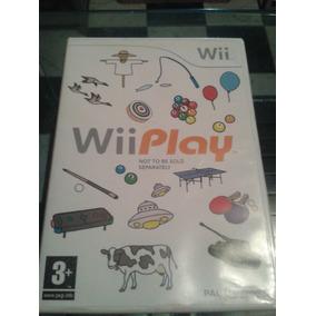 Jogo Wii Play Para Nintendo Wii Europeu Pal Completo