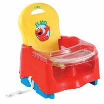 Silla De Comer Para Bebes Elmo (plaza Sesamo) Marca Kolcraft