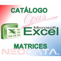 Análisis Precios Unitarios Excel Marzo 2017