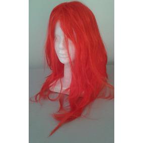 Peluca Roja Para Disfraces Cosplay