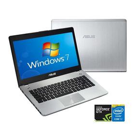 Notebook Asus N46v I7 8gb 500gb Geforce Windows 14