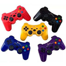 Kit 3 Controle Sem Fio Para P1 P2 P3 Pc Wireless Color Fr213