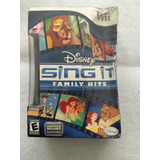 Juego Nintendo Wii Disney Sing It: Family Hits -nuevo+microf
