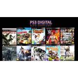 Juegos Digitales Licencia Ps3 Playstation