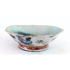 Antigo Bowl Em Porcelana Chinesa