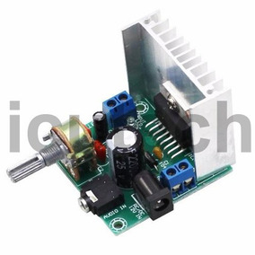 Amplificador 12v Estereo De 15w+15w Control De Volumen