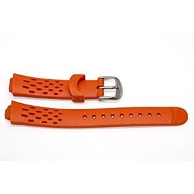 Nike Triax 10 Naranja Sustitución De Goma Reloj De Banda W