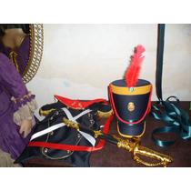 Disfraz De Granadero, Pechera, Gorro Y Espada