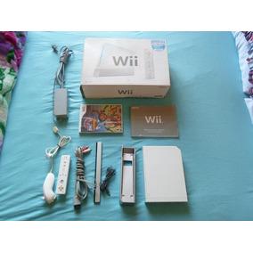 Nintendo Wii Branco Com 01 Jogo