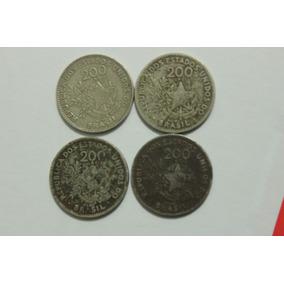 200 Réis 1901 Rara Republica Dos Estados Unidos Do Brasil