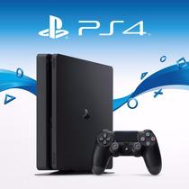 Playstation 4 Ps4 Slim Hd 500 2015a Novo Na Caixa.