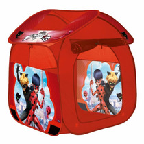 Barraca Tenda Casinha Ladybug Zippy Toys Monta Facil Barato!