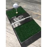 Tapete Golf Práctica Deporte Pasto Callaway Range Tee Drivin