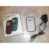 Cargador Y Forro De Teléfono Celular Alcatel Ot 255c Y 255a
