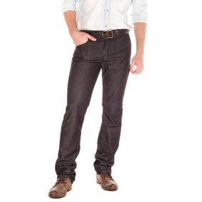 Jeans Wrangler Five Pocket Negro Hombre