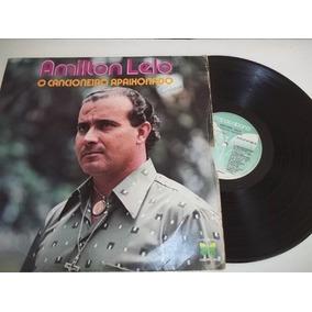 Lp Vinil - Amilton Lelo - O Cancioneiro Apaixonado - Mpb