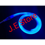 Mangueira Neon Flex Led Mini Azul 12v 1 Metro+conector