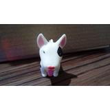 Boneco Bull Terrier Miniatura