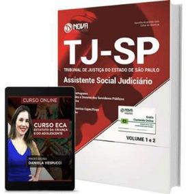 Apostila Tj Sp 2017 - Assistente Social Judiciário