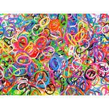 Loom Bands Paquete Con 600 Ligas, 25 Clips Y 1 Gancho