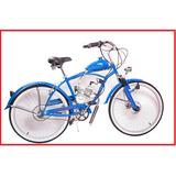 Bicicleta Moskito Mosquito Azul Moto Bicimoto Oferta