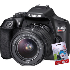 Canon T6 Kit 18-55 + Memo En Stock!!!!!