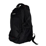 Mochila Tech Zone Para Laptop Color Negro Hasta 17 Pulgadas