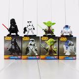 Muñecos Star Wars Coleccionables X 4 Unidades