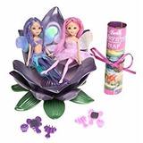 Set Peta Pixies Faries Coleção Barbie Fairytopia Nrfb