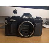 Camara Reflex Analoga Canon Av-1 Funcionando
