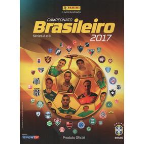 Álbum + Lote 200 Figurinhas Campeonato Brasileiro 2017