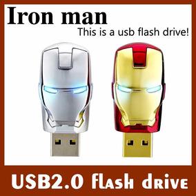 Pen Drive Homem De Ferro 32gb Iron Man Edição Limitada
