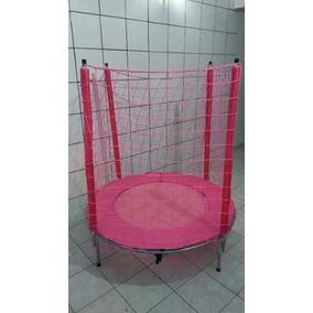 Cama Elastica 1,40m (linha Para Meninas) Rosa :) Promoção!