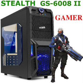 Gabinete Sentey Gamer Stealth Gs-6008 Ii Coolers Led Usb3.0