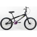 Bicicleta Aro 20 Bmx Alumínio Cross Freestyle Aero Ferradura