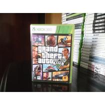 Gta V 5 Xbox 360 Original + Mapa + Português