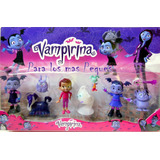 Vampirina - Blister X 6 Muñecos Y Accesorios - Ideal Tortas