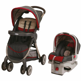 Graco Cochecito Con Huevito Y Base - Fastaction Finley