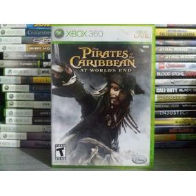 Jogo Disnep Piratas Do Caribe Xbox 360 Original + Brinde