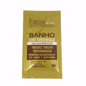 Mascara Brilho Maciez Banho De Verniz Forever Liss 15g Sache