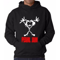 Casaco Blusa Moletom Banda Pearl Jam Alive Grunge Hard Rock
